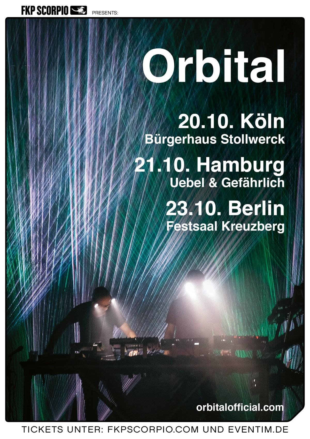 Orbital (live) @ Festsaal Kreuzberg