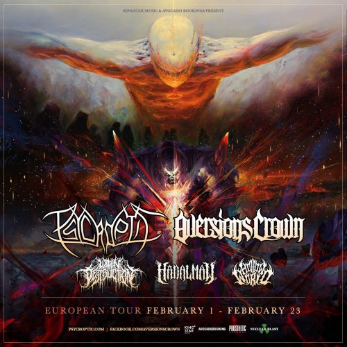 AVERSIONS CROWN | PSYCROPTIC