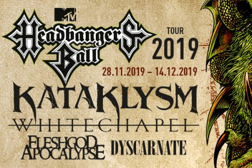 MTV`s Headbangers Ball Tour 2019