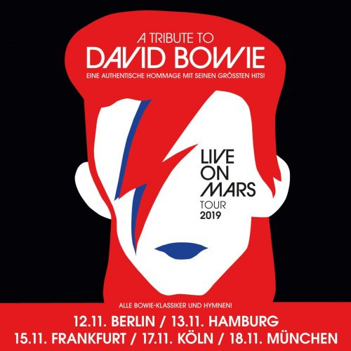 A TRIBUTE TO DAVID BOWIE LIVE ON MARS