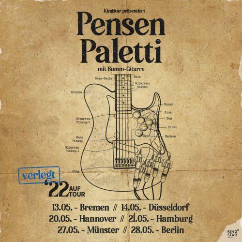 Pensen Paletti mit Bumm-Gitarre