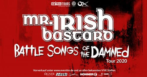Mr.Irish Bastard – Battle Songs of the Damned