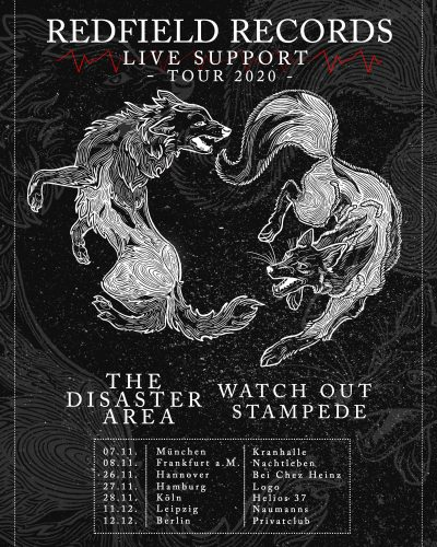 Redfield Records Live Support Tour